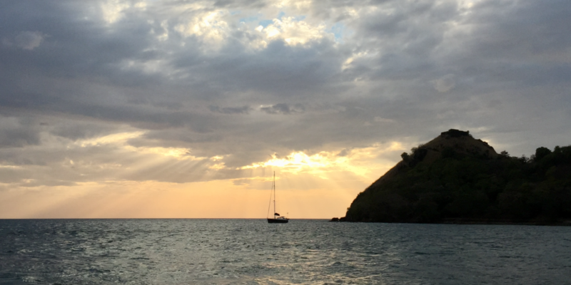 Early morning in St Lucia